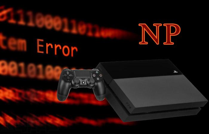 کد ارور NP پلی استیشن ۴