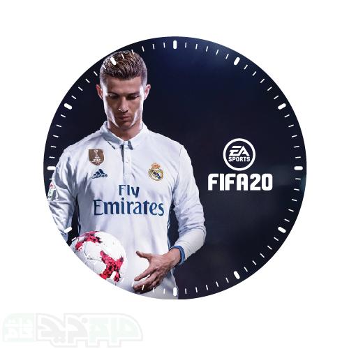 ساعت دیواری طرح بازی فیفا 20