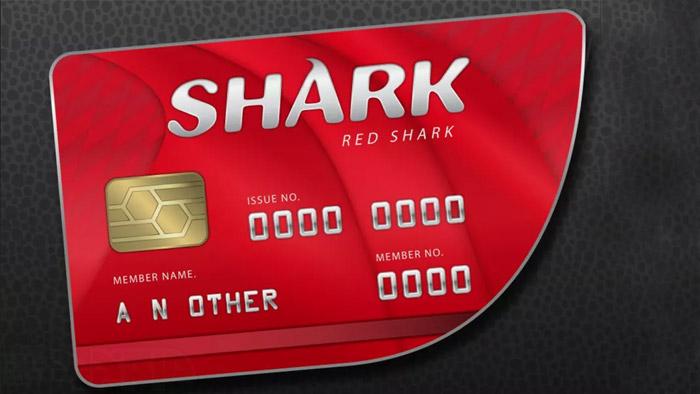 Shark Card در جی تی ای آنلاین