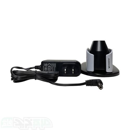 شارژ هم زمان دو دسته زمان تقریبی شارژ 2 الی 3 ساعت نشانگر LED برای نمایش میزان شارژ دارای آداپتور برای شارژ سریع دارای کابل USB