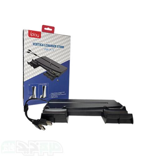پایه عمودی شارژر مخصوص PS5 برند iPlay مدل 269