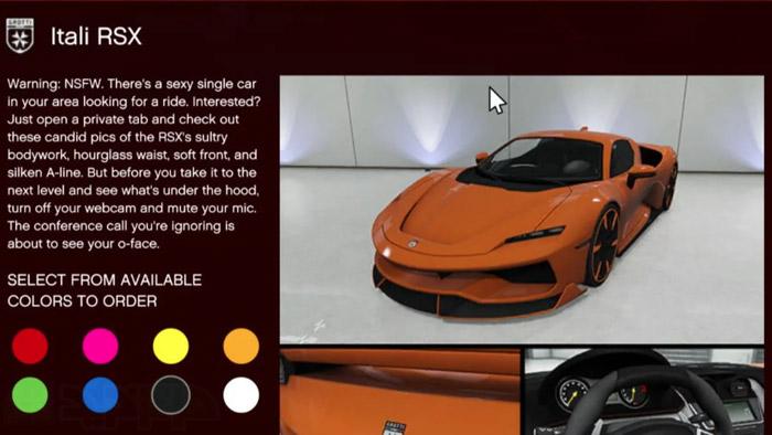 ماشین جی تی ای آنلاین