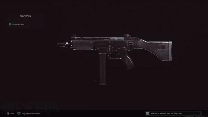 سلاح فصل 5 وارزون