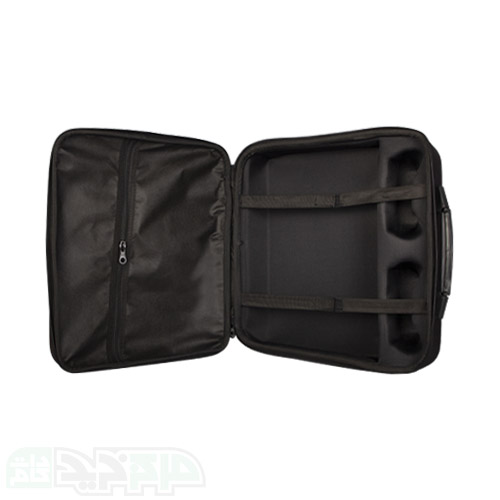 کیف حمل پلی استیشن ۵ طرح چرم سرمه ای