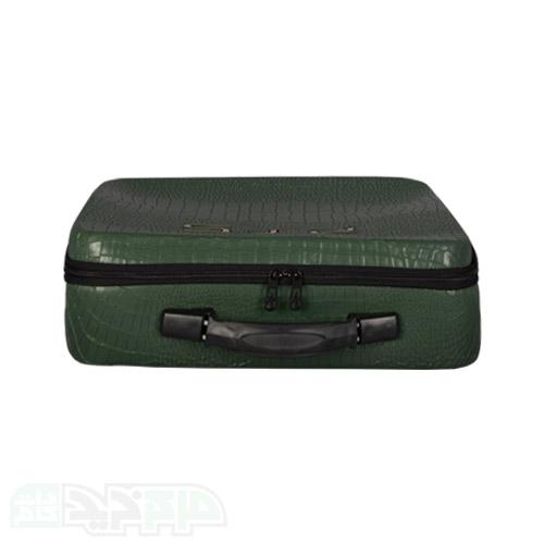 کیف حمل پلی استیشن ۵ طرح چرم سبز