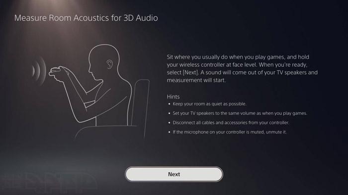 صدای سه بعدی پلی استیشن 5